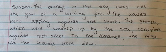 a descriptive essay on the sunset I wrote this when i was 11 years old in seventh grade it was for a descriptive paragraph assignment i described a vivid sunset read the miscellaneous free on booksie.