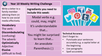 writing challenge 12